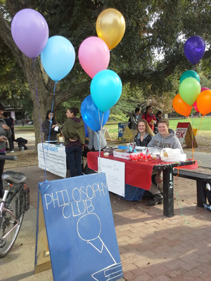Philosophy Club Bake Sale